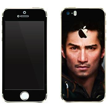 Виниловая наклейка «Far Cry 4 - Аджай Гейл» на телефон Apple iPhone 5