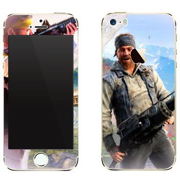 Виниловая наклейка «Far Cry 4 - Хёрк» на телефон Apple iPhone 5