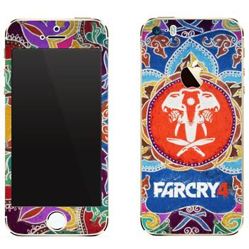 Виниловая наклейка «Far Cry 4 - Лого» на телефон Apple iPhone 5