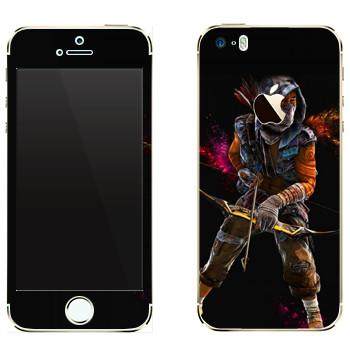 Виниловая наклейка «Far Cry 4 - лучник» на телефон Apple iPhone 5