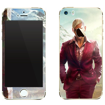 Виниловая наклейка «Far Cry 4 - Пэйган» на телефон Apple iPhone 5
