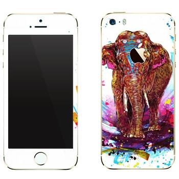 Виниловая наклейка «Far Cry 4 - слон» на телефон Apple iPhone 5