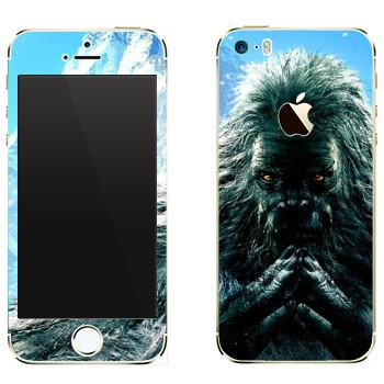 Виниловая наклейка «Far Cry 4 - Йети» на телефон Apple iPhone 5