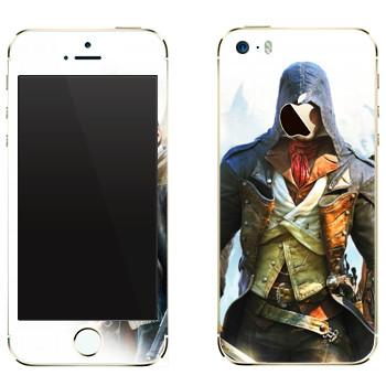 Виниловая наклейка «Герои компьютерных игр» на телефон Apple iPhone 5