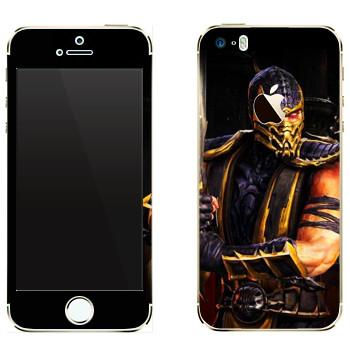 Виниловая наклейка «Ханзо Хасаши - Mortal Kombat» на телефон Apple iPhone 5