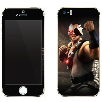 Виниловая наклейка «Кано - Mortal Kombat» на телефон Apple iPhone 5