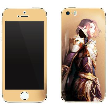 Виниловая наклейка «Lineage Elf man» на телефон Apple iPhone 5