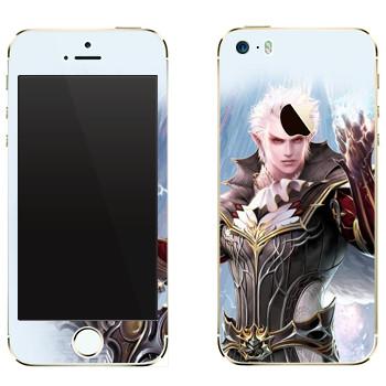 Виниловая наклейка «Lineage Elf warrior» на телефон Apple iPhone 5
