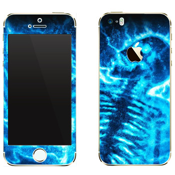 Виниловая наклейка «Mortal Kombat Рентген» на телефон Apple iPhone 5