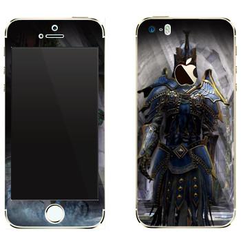Виниловая наклейка «Neverwinter Armor» на телефон Apple iPhone 5