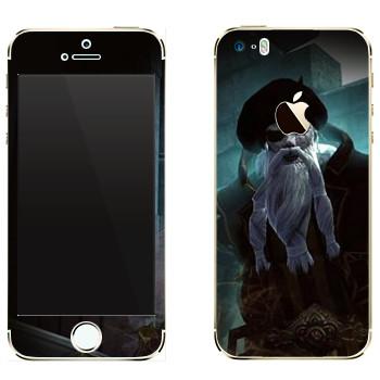 Виниловая наклейка «Neverwinter Бородатый» на телефон Apple iPhone 5