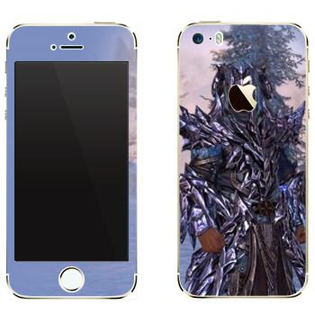 Виниловая наклейка «Neverwinter Человек» на телефон Apple iPhone 5