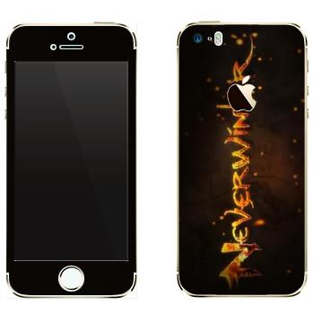 Виниловая наклейка «Neverwinter Игра» на телефон Apple iPhone 5