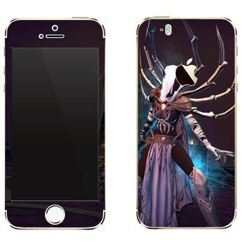 Виниловая наклейка «Neverwinter Паук» на телефон Apple iPhone 5
