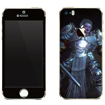 Виниловая наклейка «Neverwinter Рыцарь» на телефон Apple iPhone 5