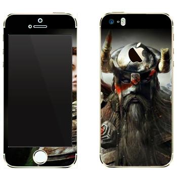 Виниловая наклейка «Neverwinter Викинг» на телефон Apple iPhone 5