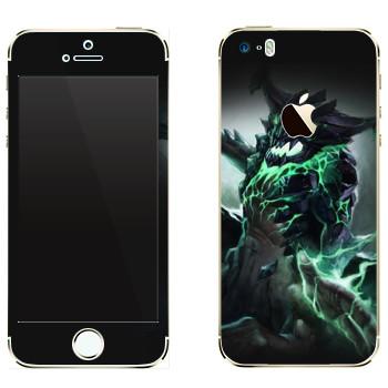 Виниловая наклейка «Outworld - Dota 2» на телефон Apple iPhone 5