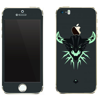 Виниловая наклейка «Outworld Devourer» на телефон Apple iPhone 5