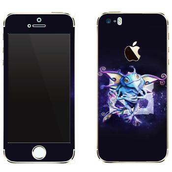 Виниловая наклейка «Puck — детеныш волшебного дракона» на телефон Apple iPhone 5