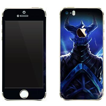 Виниловая наклейка «Razor - дитя молнии» на телефон Apple iPhone 5