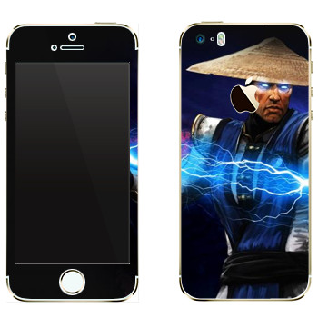Виниловая наклейка «Рэйден Mortal Kombat» на телефон Apple iPhone 5