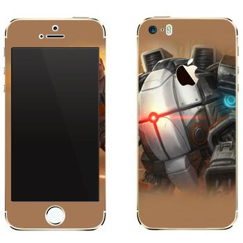 Виниловая наклейка «Shards of war Бастион» на телефон Apple iPhone 5