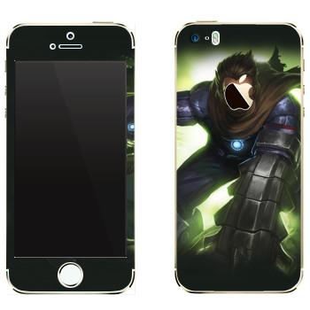Виниловая наклейка «Shards of war Брич» на телефон Apple iPhone 5