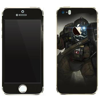 Виниловая наклейка «Shards of war Быкоход» на телефон Apple iPhone 5