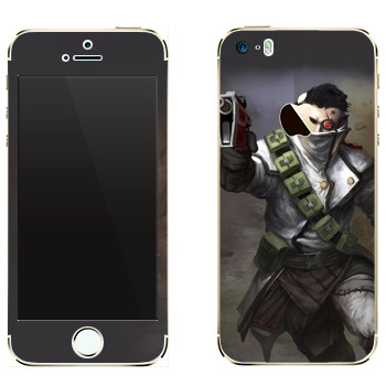 Виниловая наклейка «Shards of war Flatline» на телефон Apple iPhone 5