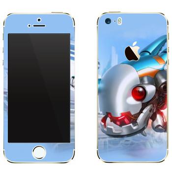 Виниловая наклейка «Shards of war Патчи» на телефон Apple iPhone 5