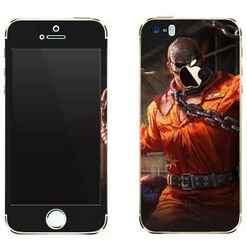 Виниловая наклейка «Shards of war Рино» на телефон Apple iPhone 5