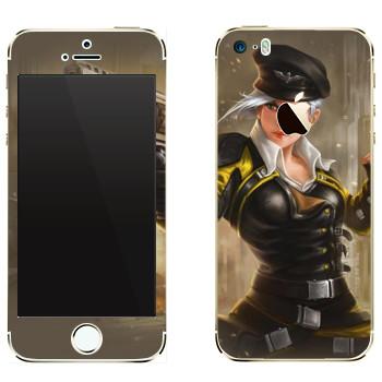 Виниловая наклейка «Shards of war Валькирия» на телефон Apple iPhone 5