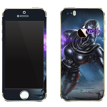 Виниловая наклейка «Shards of war Вокс» на телефон Apple iPhone 5