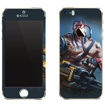 Виниловая наклейка «Shards of war Вулкан» на телефон Apple iPhone 5