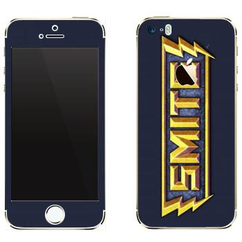 Виниловая наклейка «SMITE игра» на телефон Apple iPhone 5