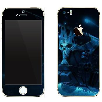 Виниловая наклейка «Star conflict Death» на телефон Apple iPhone 5