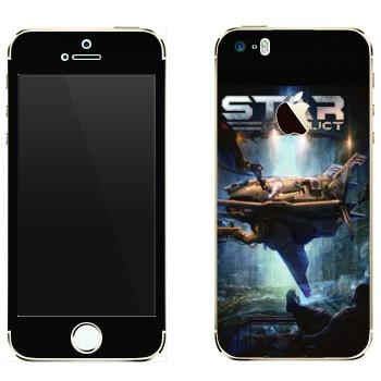 Виниловая наклейка «Star Conflict Игра» на телефон Apple iPhone 5