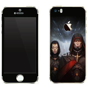 Виниловая наклейка «Star Conflict Капитан» на телефон Apple iPhone 5