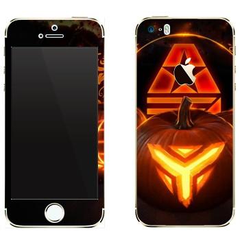 Виниловая наклейка «Star conflict Pumpkin» на телефон Apple iPhone 5