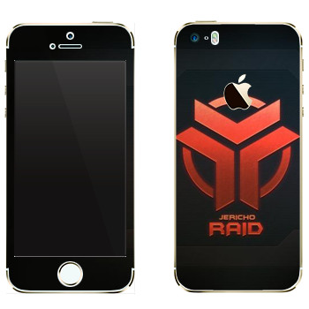 Виниловая наклейка «Star conflict Raid» на телефон Apple iPhone 5