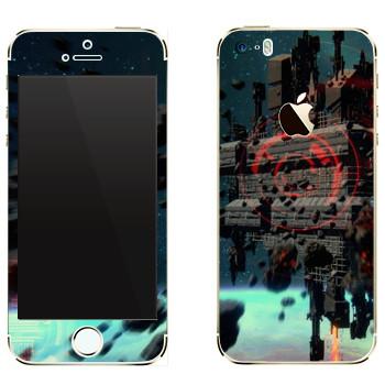 Виниловая наклейка «Star Conflict сцена» на телефон Apple iPhone 5
