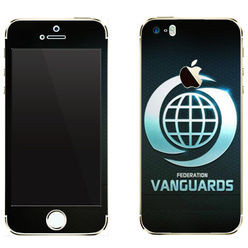 Виниловая наклейка «Star conflict Vanguards» на телефон Apple iPhone 5