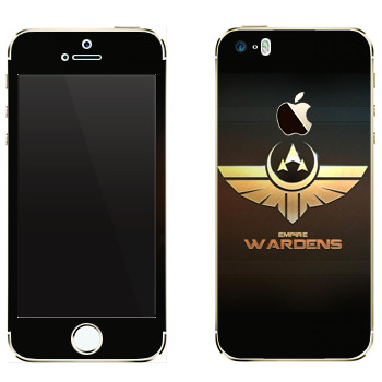 Виниловая наклейка «Star conflict Wardens» на телефон Apple iPhone 5