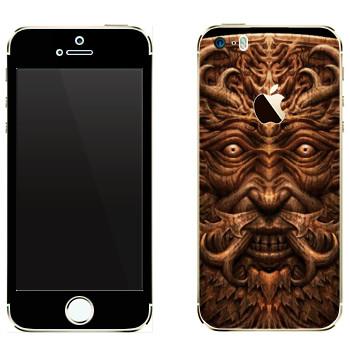 Виниловая наклейка «Темные Души» на телефон Apple iPhone 5