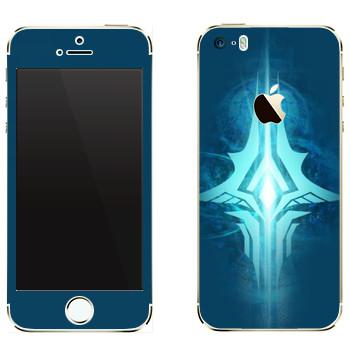 Виниловая наклейка «Tera logo» на телефон Apple iPhone 5