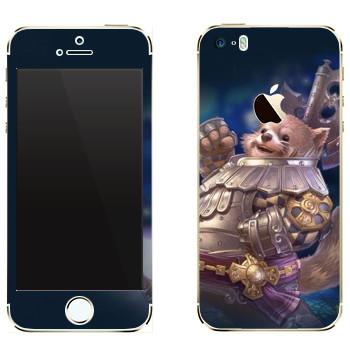 Виниловая наклейка «Tera Popori» на телефон Apple iPhone 5