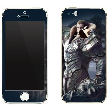 Виниловая наклейка «Tera рыцарь» на телефон Apple iPhone 5