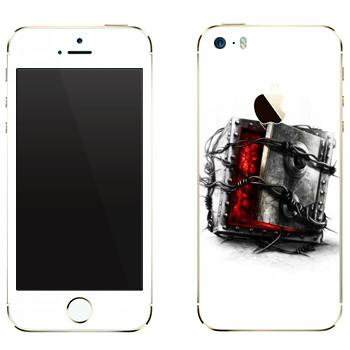 Виниловая наклейка «The Evil Within - Сейф» на телефон Apple iPhone 5