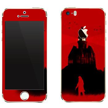 Виниловая наклейка «The Evil Within - Темный дом» на телефон Apple iPhone 5