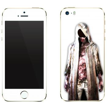 Виниловая наклейка «The Evil Within - Зомби» на телефон Apple iPhone 5
